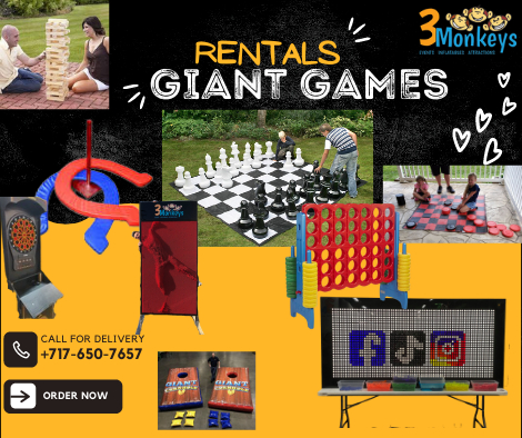 Giant Games for Rent York near me