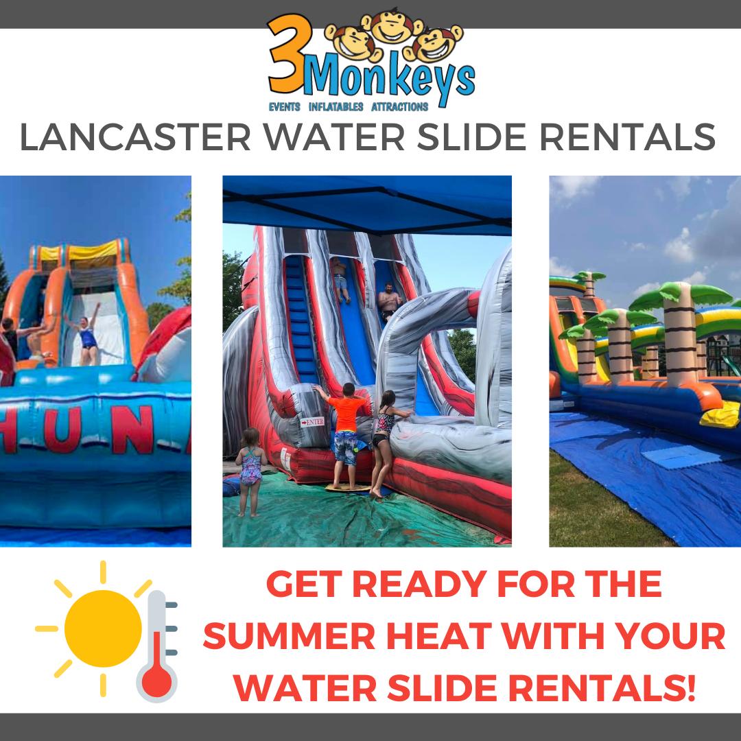 Water Slide Rentals Lancaster near me