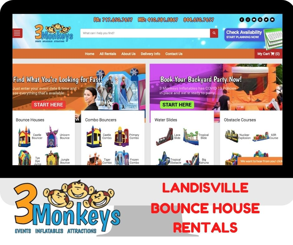 Landisville Bounce House and Water Slide Rentals