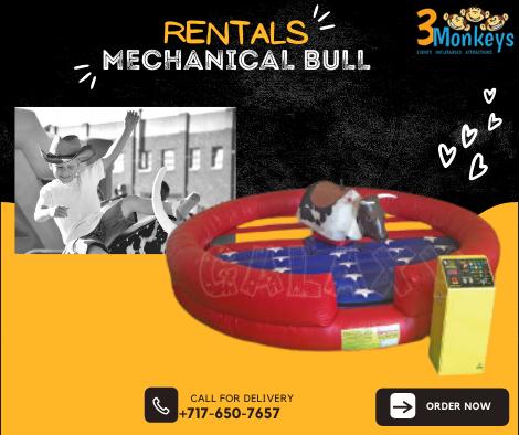Mechanical Bull Rentals York near me