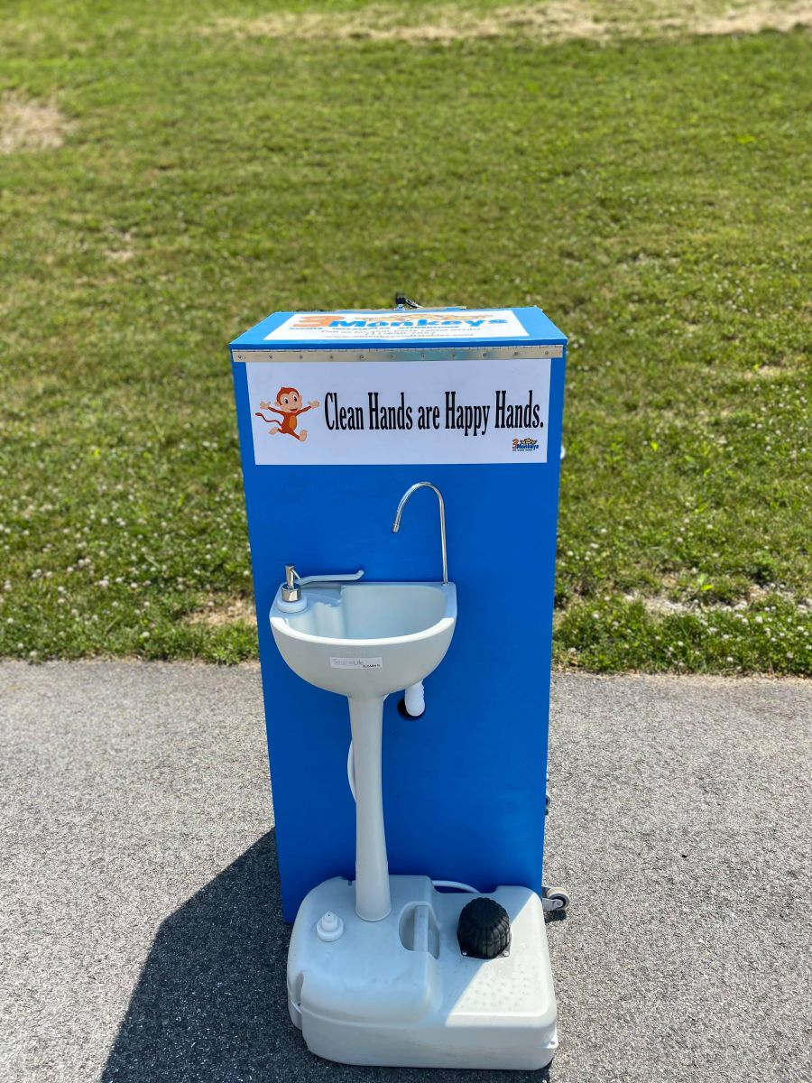 Portable Sinks and Sanitizing Station Rentals near me