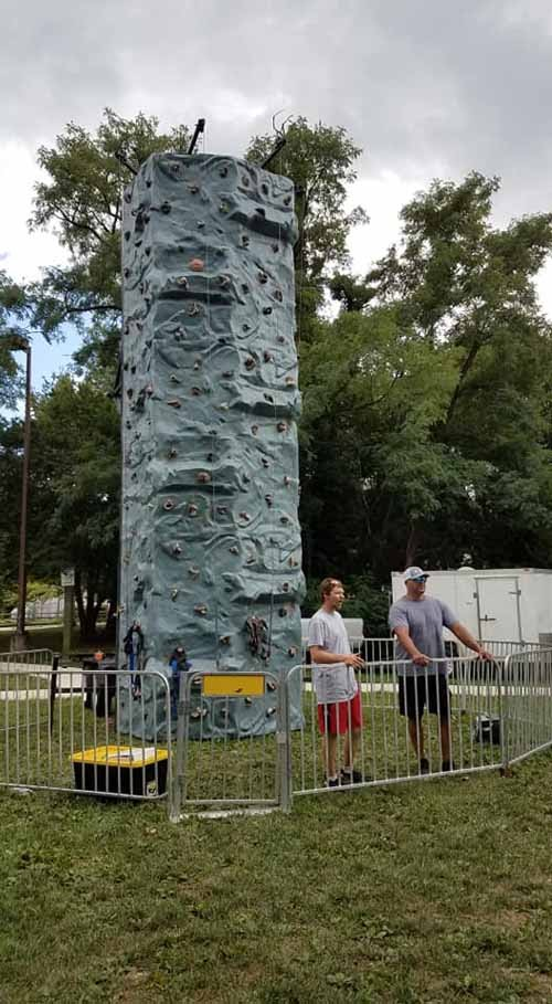 Rock Wall Rental near me