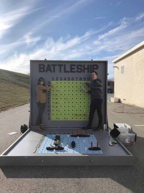 Giant Battleship Game Rental