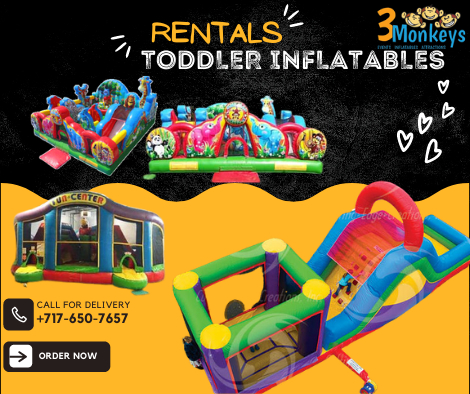 Toddler Inflatables for Rent York near me