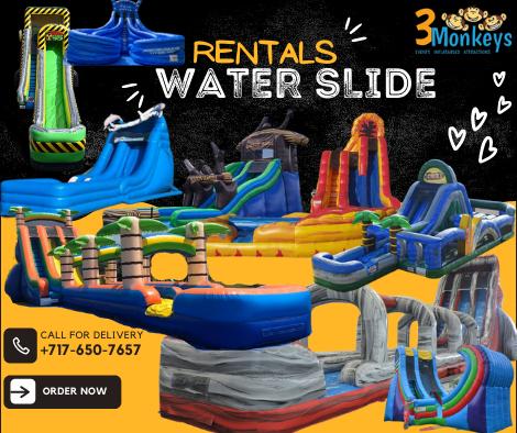 Water Slide Rentals York near me