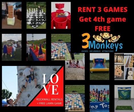 Wedding Giant Game Rentals