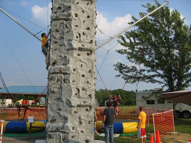 Rock Wall and Euro Bungy