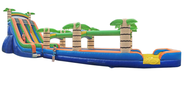 22' Tropical Slide (#35A & #35B)
