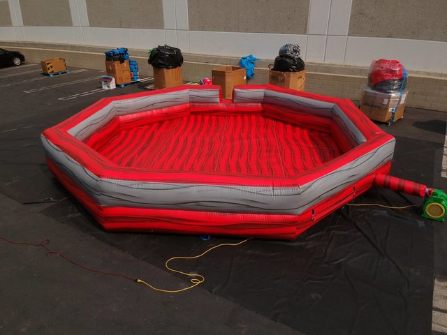 Foam Pit (Large) with Foam Machine - blacklight option available
