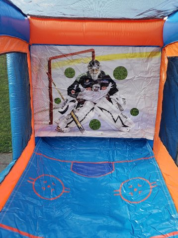 Ice Hockey Shootout Inflatable Game