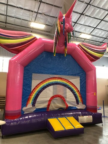 Unicorn Bounce House (#28)