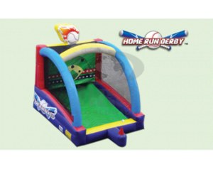 Home Run Derby Inflatable Baseball Game (#3G)