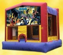 Batman Bounce House (#25) 16.4L x 15.4W x 16H | 7.5amps