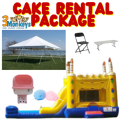 Cake Rental Party Package