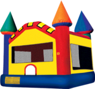 Castle Bounce House (#23) <br>16.4Lx15.4Wx16H | 7.5amps