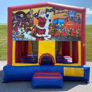 Holiday Bounce House (#25)  16.4Lx15.4Wx13H | 7.5amps