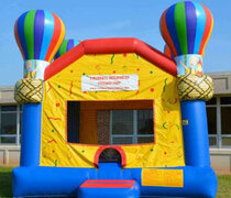 Hot Air Balloon Bounce House  16.4 L x 15.4 W 16 H | 7.5 amps