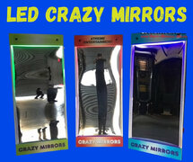 LED Crazy Mirrors