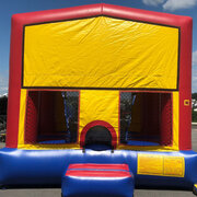 Modular Primary Color Bounce House (#25)  16.4Lx15.4Wx13H | 7.5amps
