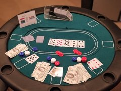 Poker Table Casino Games