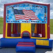USA Bounce House (#25)  16.4Lx15.4Wx13H | 7.5amps