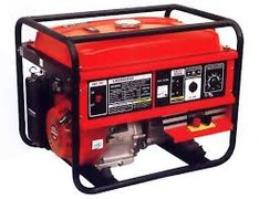Gas Powered Generator (RED) - 15amps