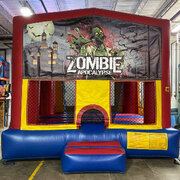 Zombie Bounce House (#25)  16.4Lx15.4Wx13H | 7.5amps