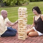 New Giant Jenga Tower Game