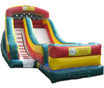 18ft Primary Color Water Slide (#2)
