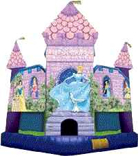Disney Princess Bounce House (#8)