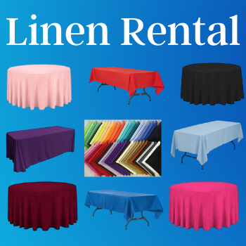 Linens Covers Rentals Riverside