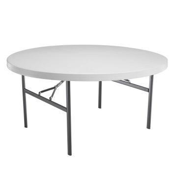 48'' round table (seats 6 to 8 people)
