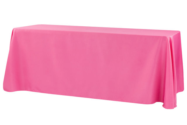 fuchsia rectangular floor linen for 8ft