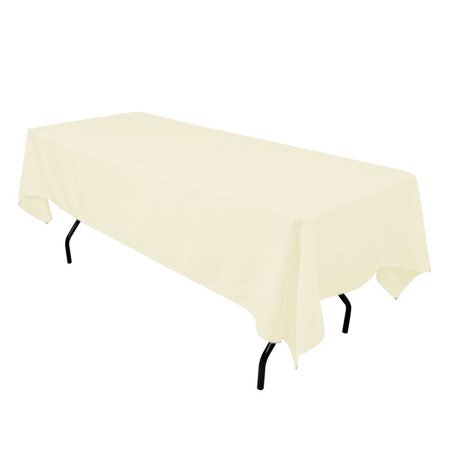 ivory rectangular halfay linen for 6ft and 8ft