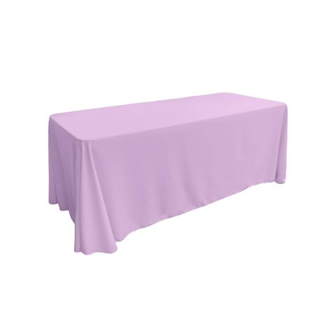 lavender rectangular floor table for 8ft