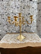 Gold Candle holder 12""