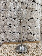 Silver candle holder 15""