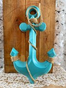 Tiffany Blue anchor 12""