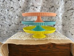 Pastel Cake stands (set of 3)