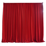 RED DRAPING 10' LONG X 7' HIGH