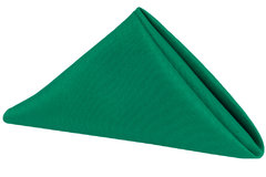 emerald green napkin