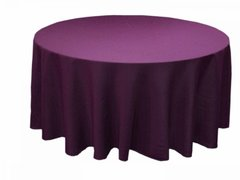 "purple 120"" and 108"" linen"