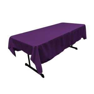 purple rectangular halfway linen for 6 ft and 8 ft