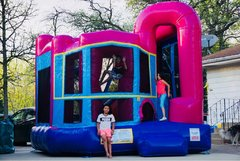 32 Bounce House Backyard Dream