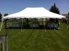 20x35 Marquee Tent