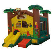 17-Jungle-Mini-Slide-Bounce-House-15x15