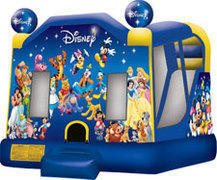 49-B-Disney-world-Inflatable-Bounce-w/slide