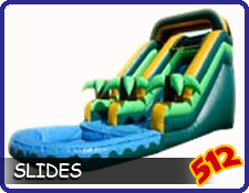 Inflatable Dry Slide Rentals