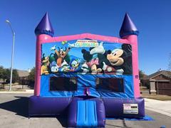 Mickey Mouse Bounce House(Pink and Blue)