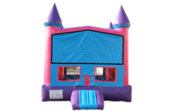 Purple and Pink Bounce House
